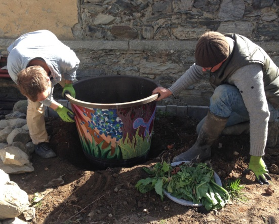 INstalling-compost